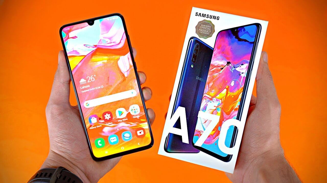 SAMSUNG GALAXY A70: Bigger and Better