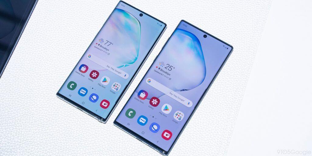 Samsung note 10+ display
