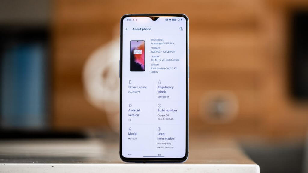 OnePlus 7t launch date