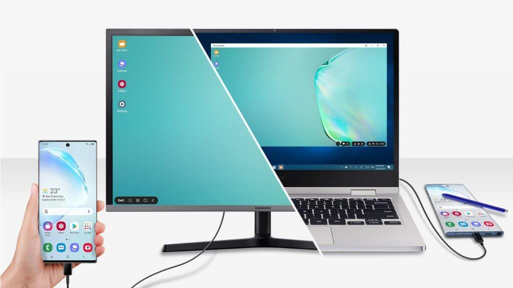 Samsung DeX: Desktop experience on the go