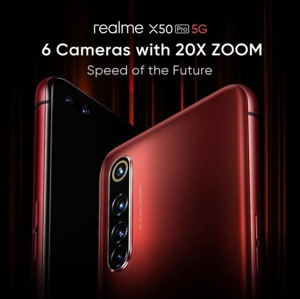 realme x50 pro camera