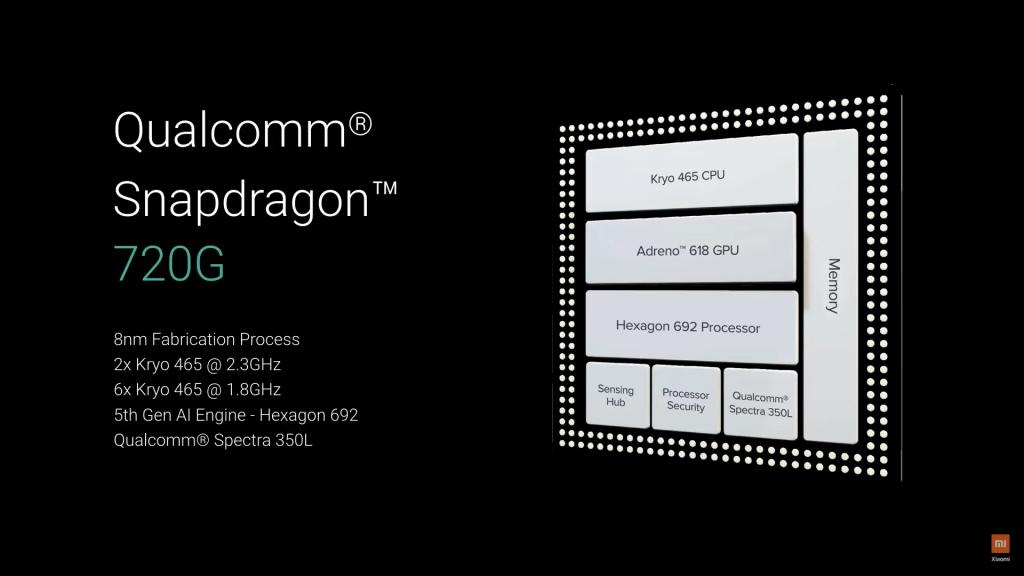 xiaomi note 9 pro processor