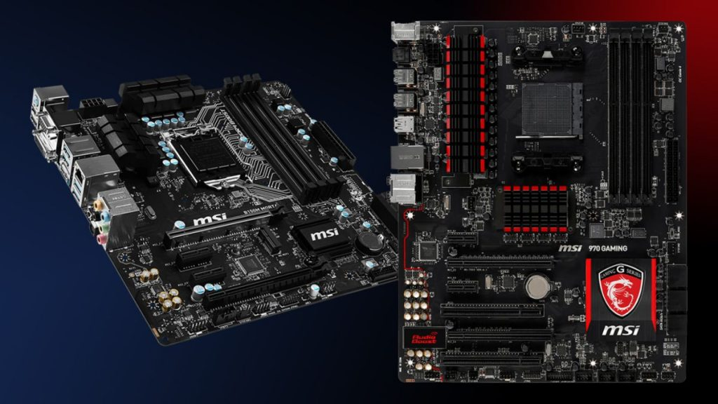 Motherboard of computer