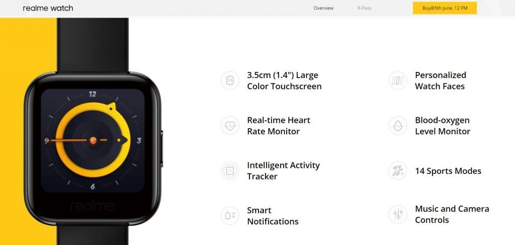 Realme Watch Price in Nepal