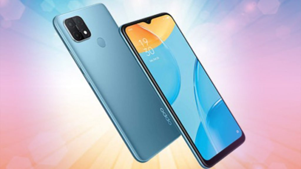 oppo a15 dispaly