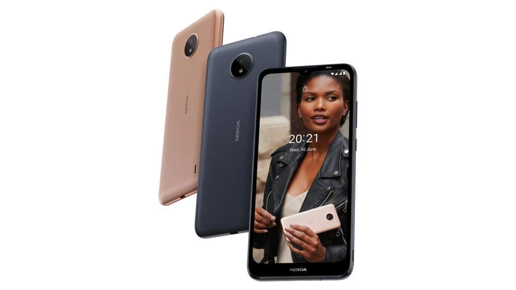Nokia C20 color options