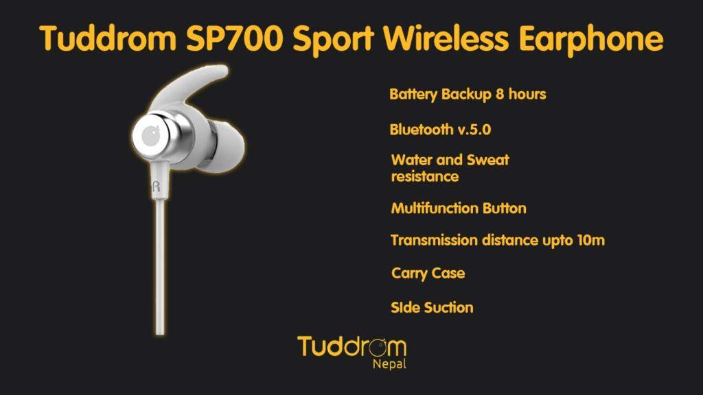 Tuddrom sp700 specifications