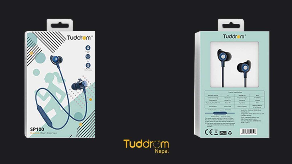 Tuddrom sp100 packageing